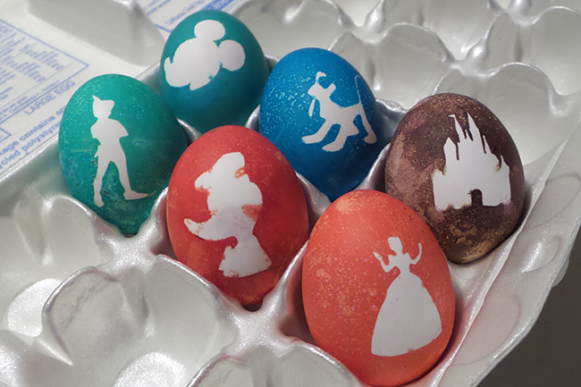 Disney Silhouette Easter Eggs
