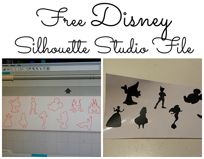 Free Disney Silhouette Studio Design File