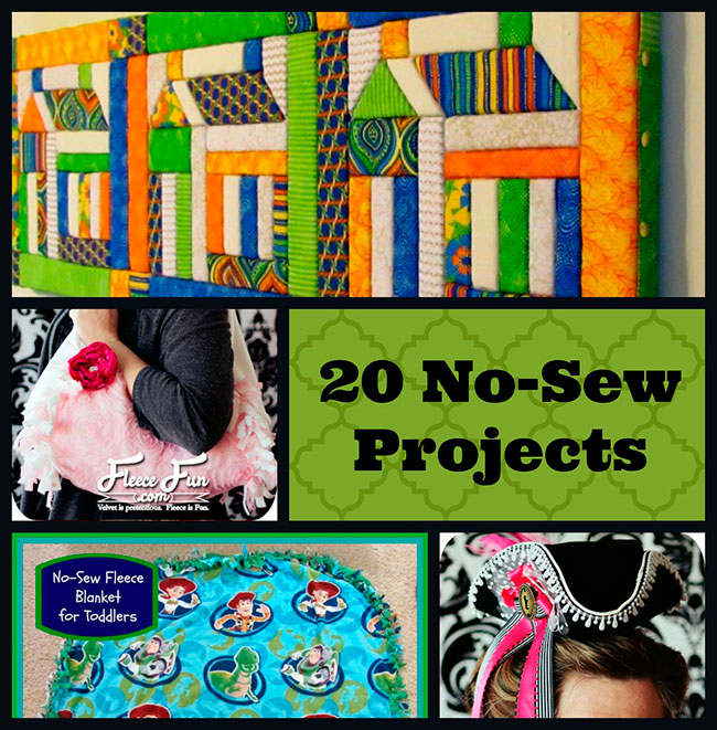 20 Fun Amp Easy No Sew Projects