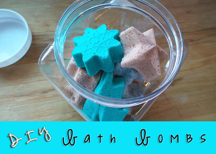 DIY: Homemade Bath Bombs