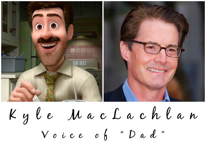Kyle MacLachlan - Dad in Pixar's Inside Out
