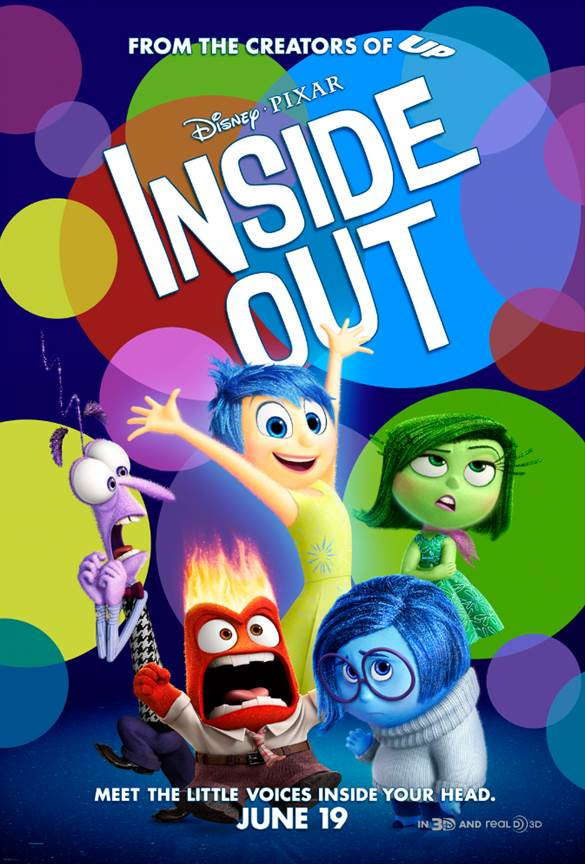 Pixar's Inside Out movie poster