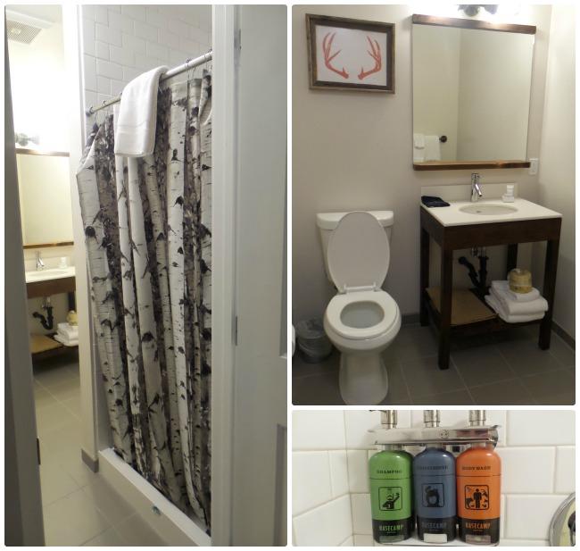 Basecamp Hotel Bathroom