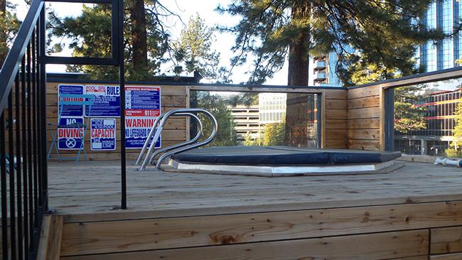 Rooftop Hot Tub at Basecamp Hotel