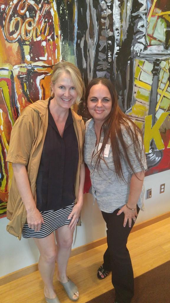 Kathleen Plate and Stefani Tolson - 5by20 The Art Of Entrepreneurship Event