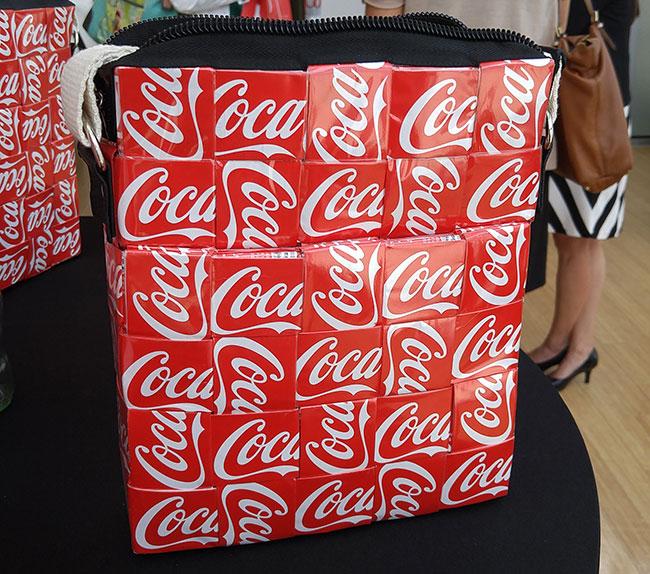 #5by20 Coca-Cola bag - Mitz Foundation