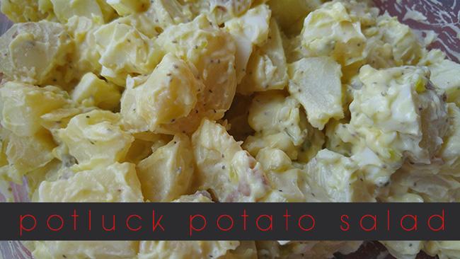 Potluck Potato Salad Recipe