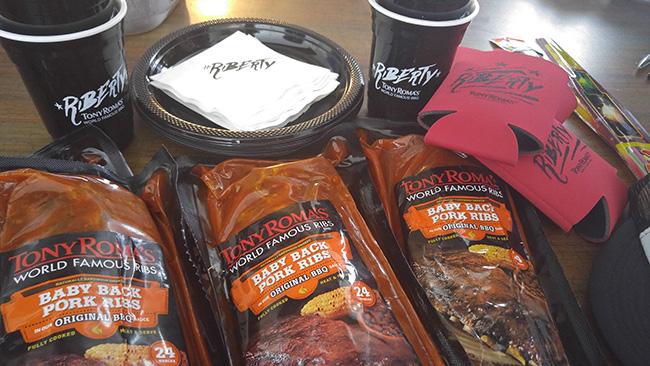 Tony Romas World Famous BBQ #Riberty