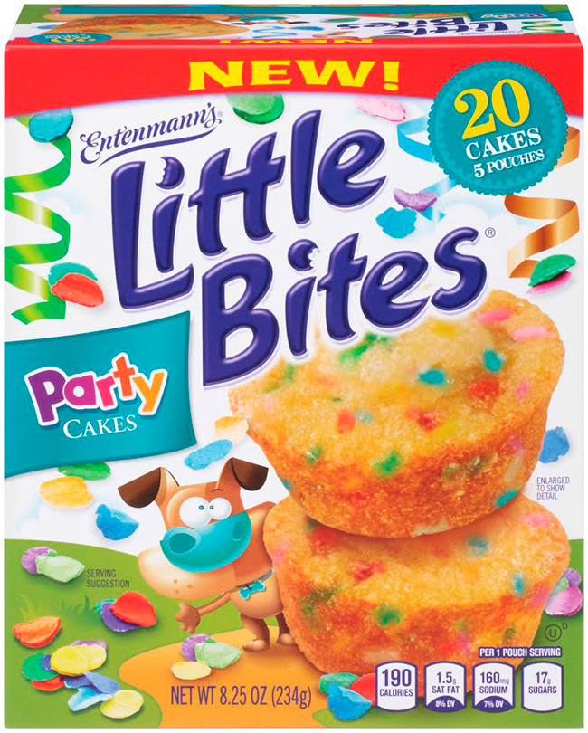 Little Bites Party Cakes Caterpillars