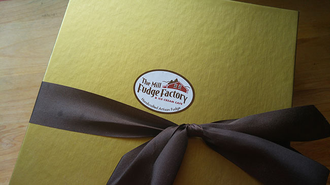 Mill Fudge Factory Box