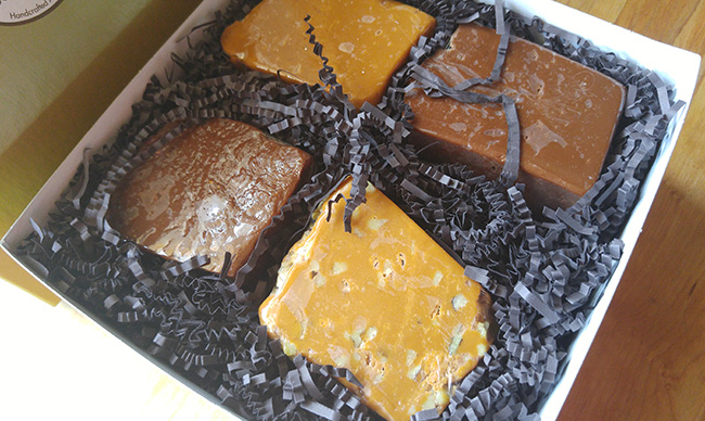 Fudge from The Mill Fudge Factory