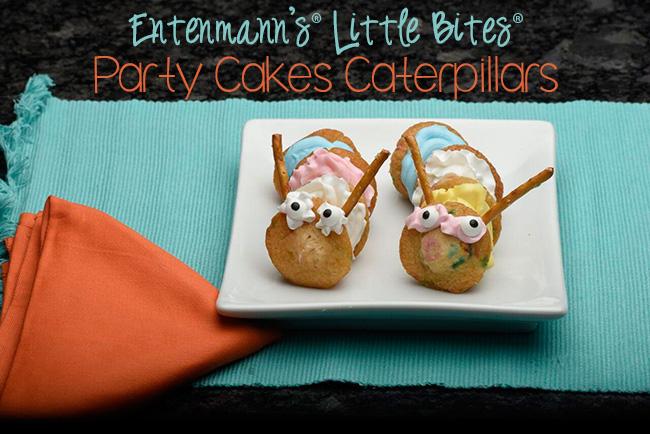 Entenmann's Little Bites Party Cakes Caterpillars