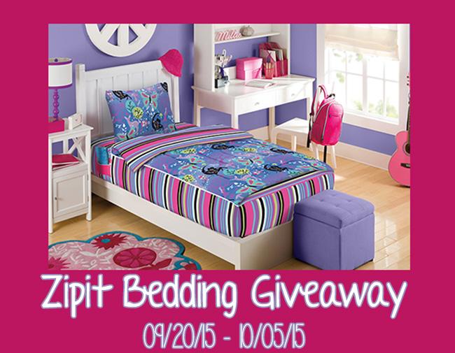 Zipit Bedding Giveaway