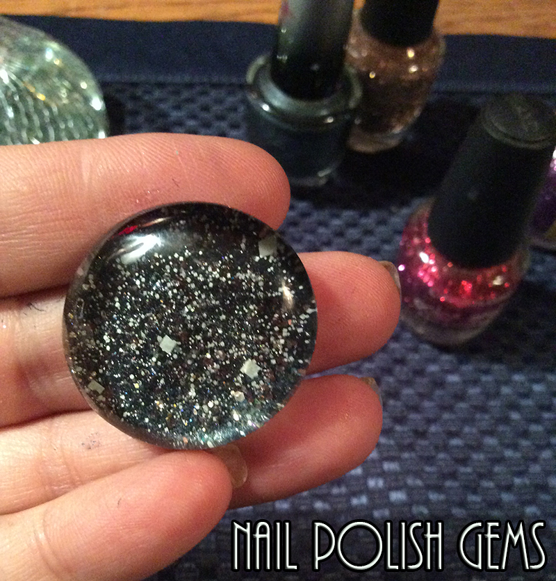 How To Make Nail Polish Gems