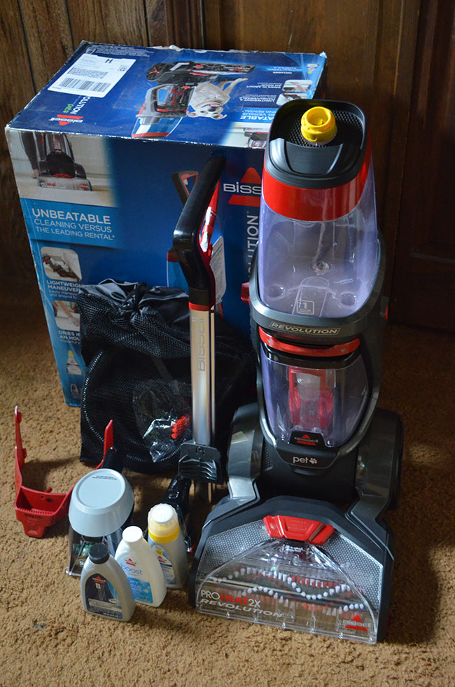 BISSELL ProHeat 2X Revolution Review - Mom's Blog