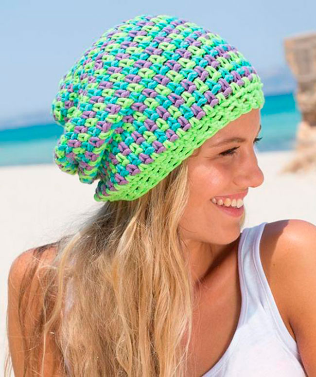 Five FREE Cute Slouchy Hat Crochet Patterns Mom's Blog Amazing Free Crochet Slouchy Hat Patterns