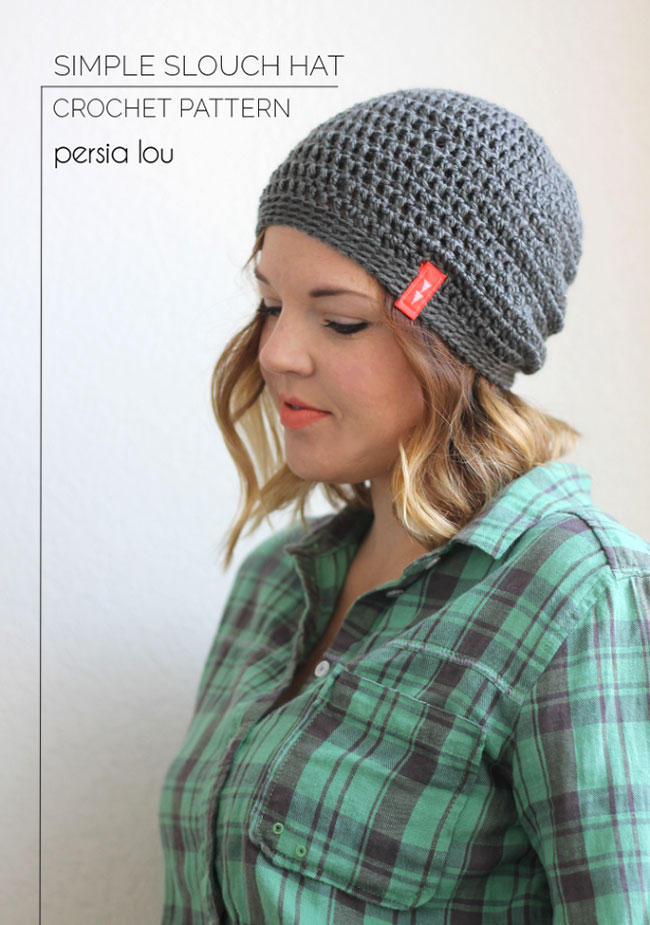 Five Free Cute Slouchy Hat Crochet Patterns Moms Blog