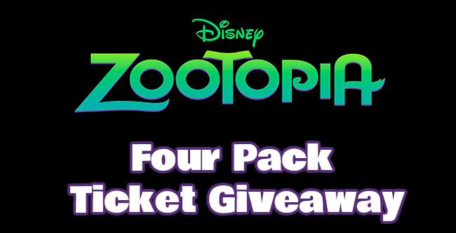 Zootopia Ticket Giveaway