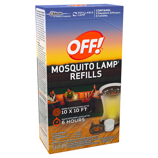 Off Mosquito Lamp Review - Mom's Blog