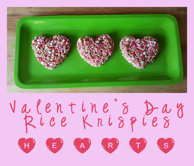 Valentines Day Rice Krispies