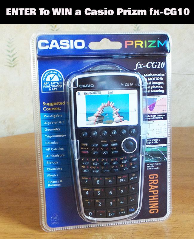 Casio Prizm fx-CG10 Giveaway