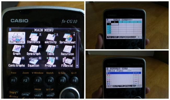 casio fx cg10 prizm color graphing calculator black