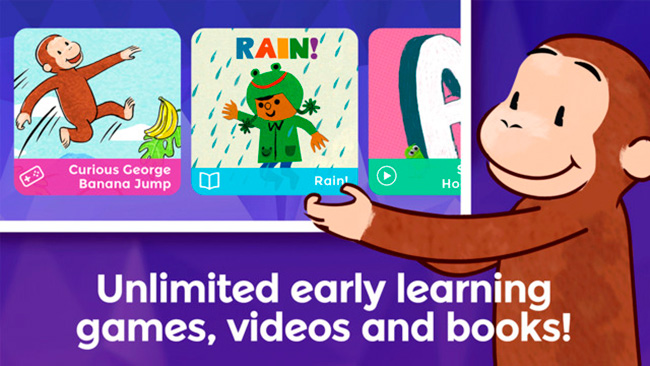 Curious World Early Learning App