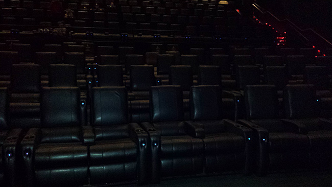 Dolby Cinema at AMC Prime Seating