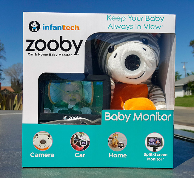 Zooby Car Home Baby Monitor Review Mom S Blog