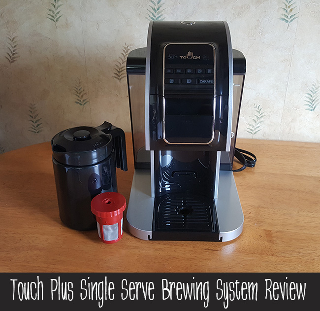 Touch Plus Single-Serve Brewing System