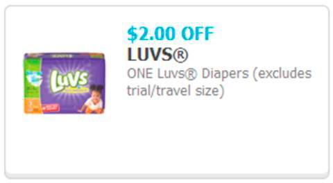 Luvs Diaper Printable Coupon