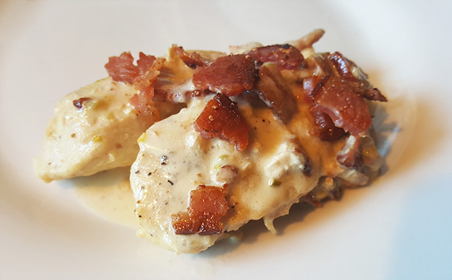 Recipe for Creamy Pepperjack And Bacon Chicken