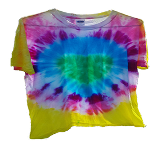 Heart Tie Dye T-shirt