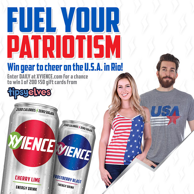XYIENCE Fuel Your Patriotism Sweepstakes