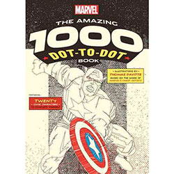 Marvel Dot To Dot Book