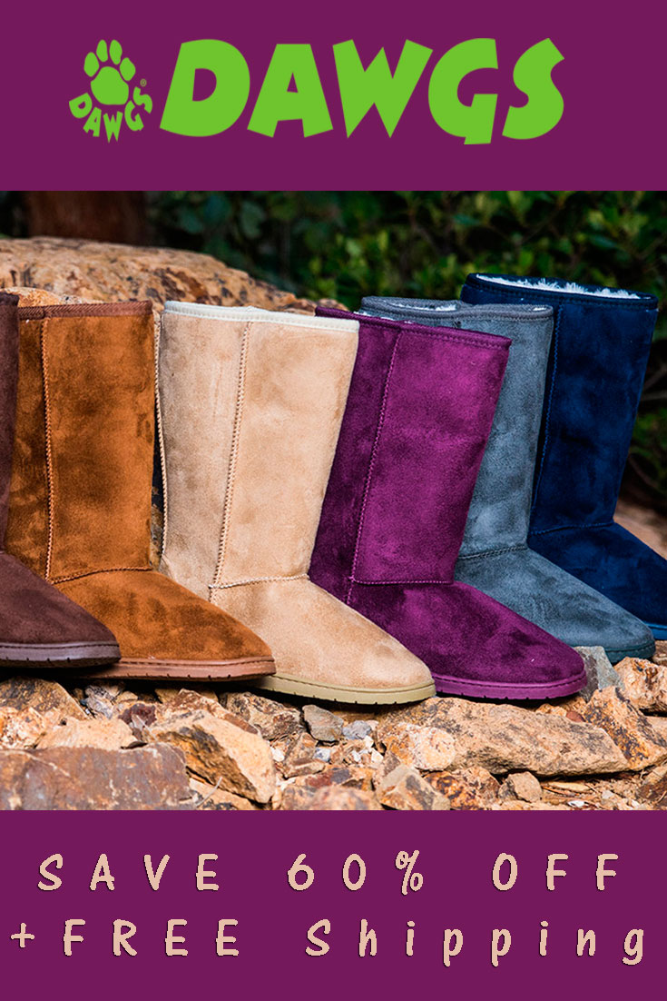 Save 60% OFF DAWGS Boots + FREE Shipping
