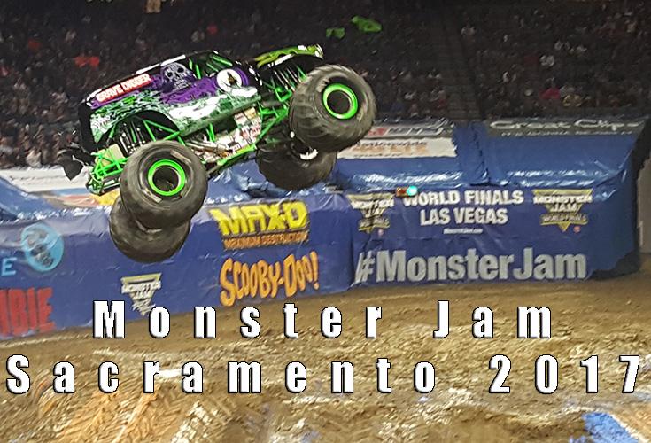 Monster jam sacramento 2017 review for Craft fairs sacramento 2017
