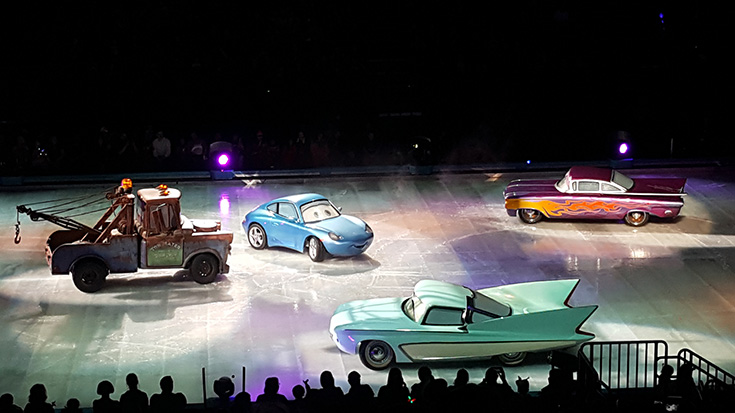 Cars - Disney On Ice - Worlds of Enchantment