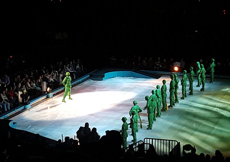 Disney On Ice - Green Army Men