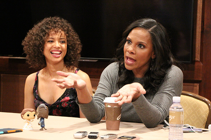 Exclusive Beauty And the Beast Interview With Audra McDonald & Gugu Mbatha-Raw