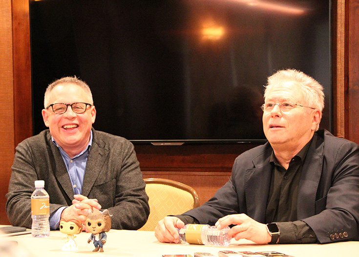 Exclusive Beauty and the Beast Interview With Bill Condon & Alan Menken