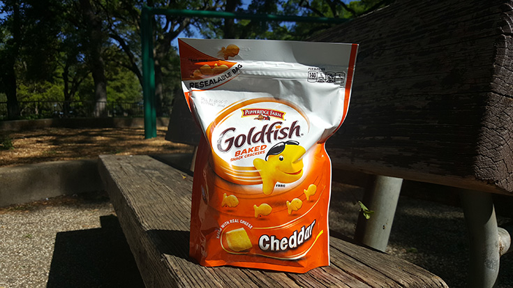 Goldfish Crackers on the go