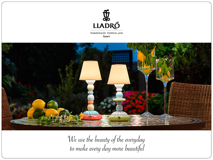 Lladro Lotus Firefly Lamp Giveaway