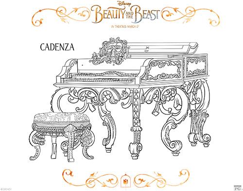 Printable Cadenza Coloring Page
