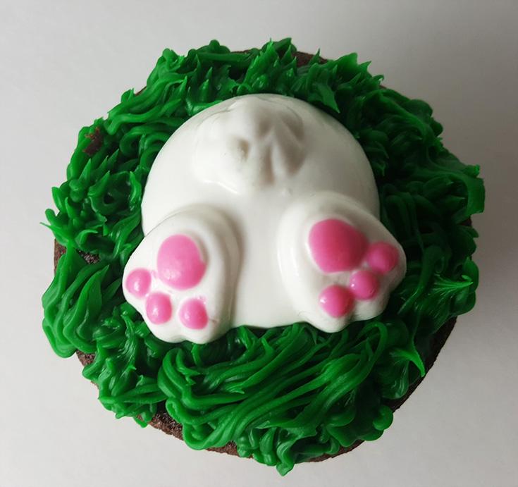 Bunny Butt Cupcake Recipe