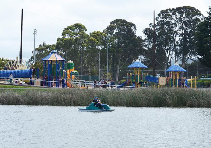 El Estero Park in Monterey