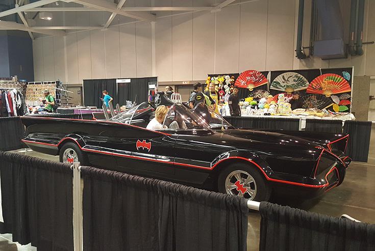 Batmobile Wizard World Comic Con