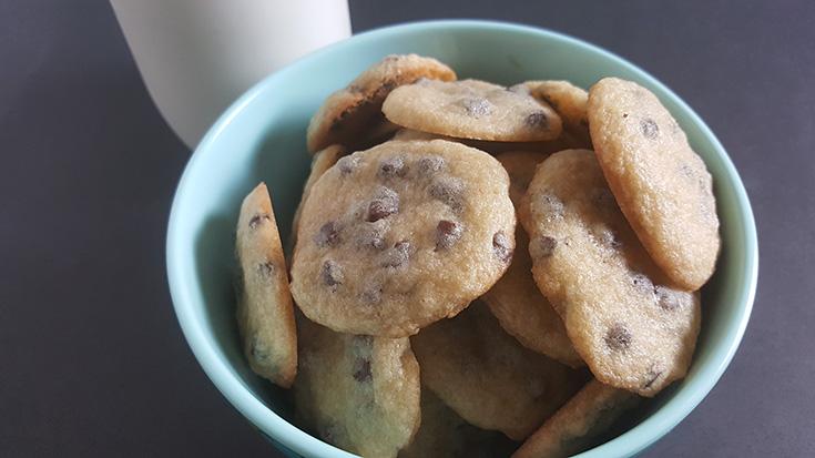 Mini Chocolate Chip Cookies With My KitchenAid Artisan Mini Mixer