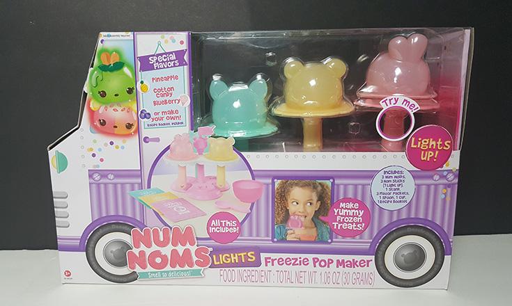 Num Noms Lights Freezie Pop Maker Review