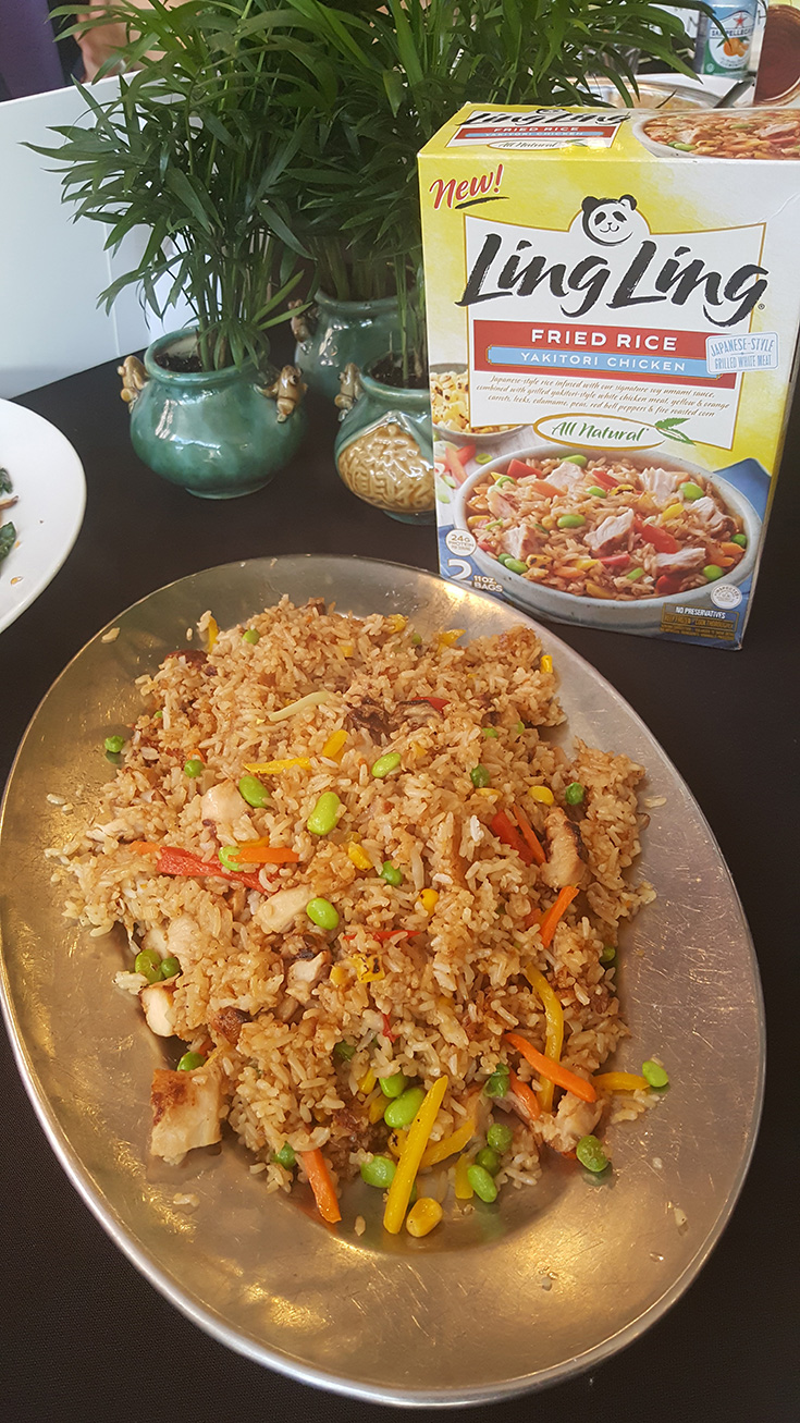 Ling Ling Yakitori Chicken Fried Rice